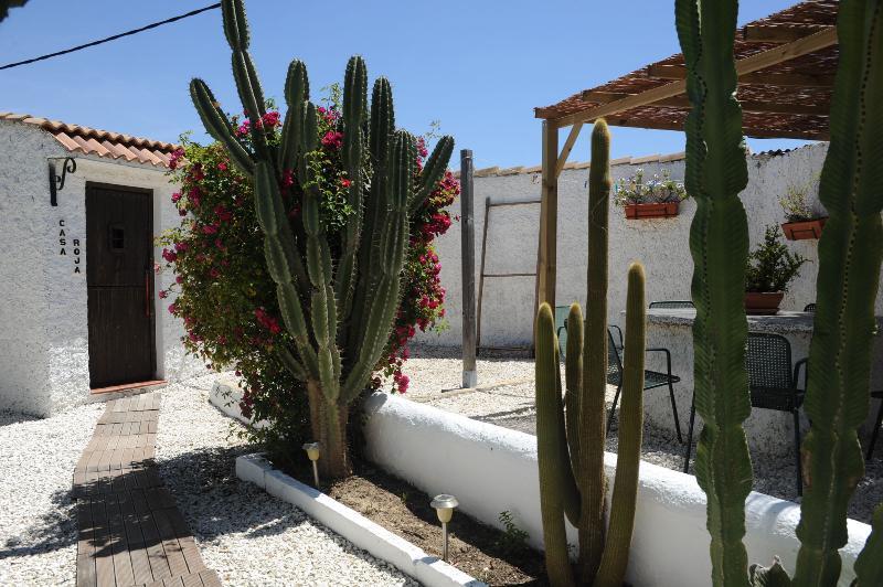 Casa Roja - entrance.
