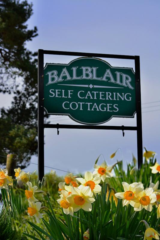 Balblair Cottages - signe