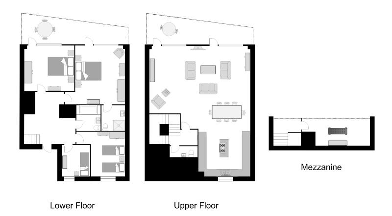 The Harbour View Penthouse Floor Plan