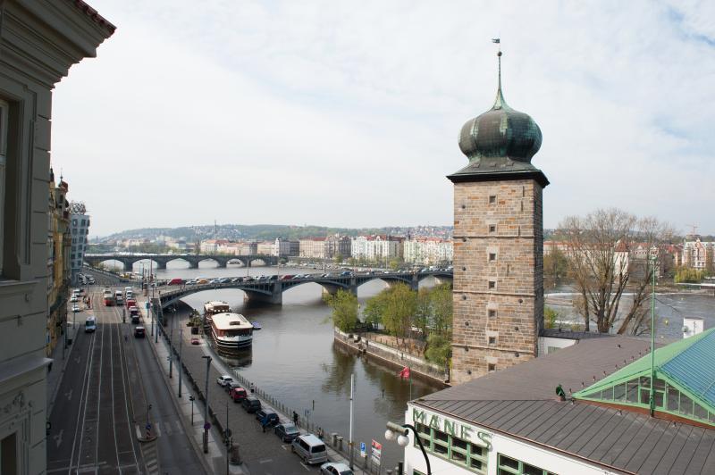 Vista del río desde Apartamento