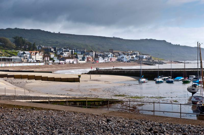 View of Lyme from the Harbour
