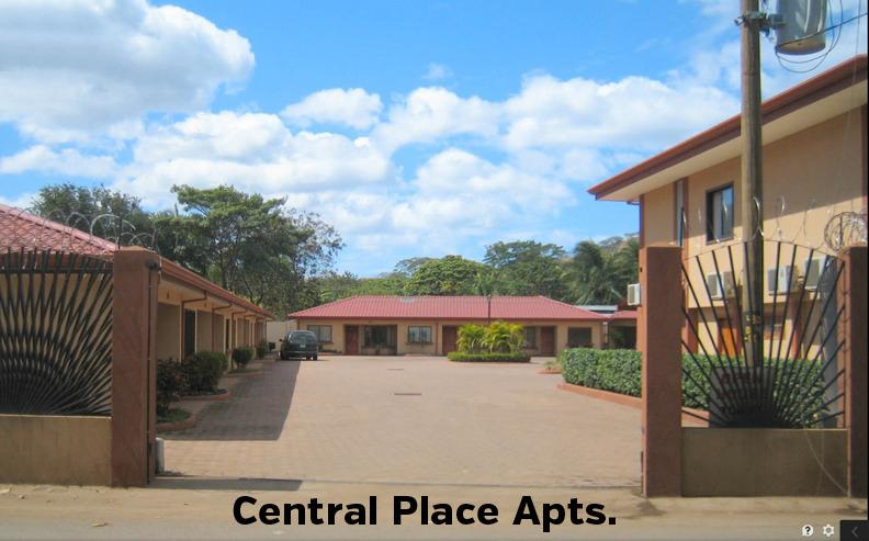 Central Place condominiums in the heart of Playas del Coco