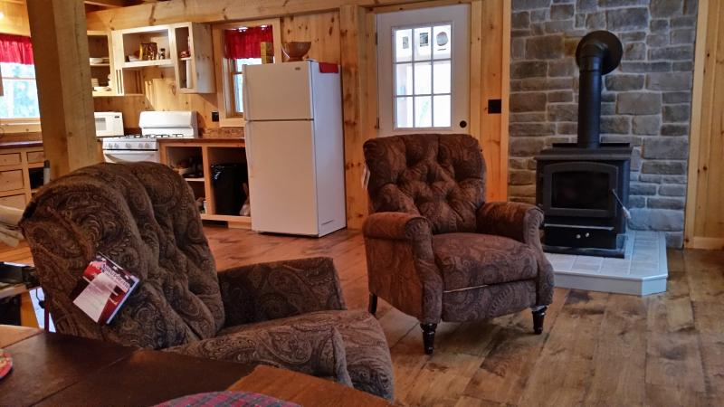 Recliners in family room
