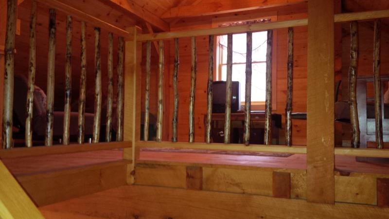 Upstairs loft/sleeping room