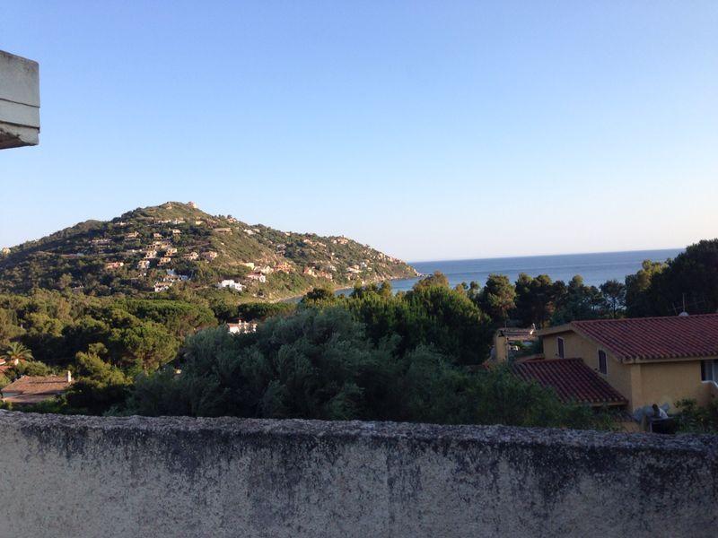 Questa è la vista che si può ammirare dal terrazzo