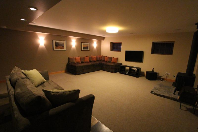 Media room converts to 4th bedroom