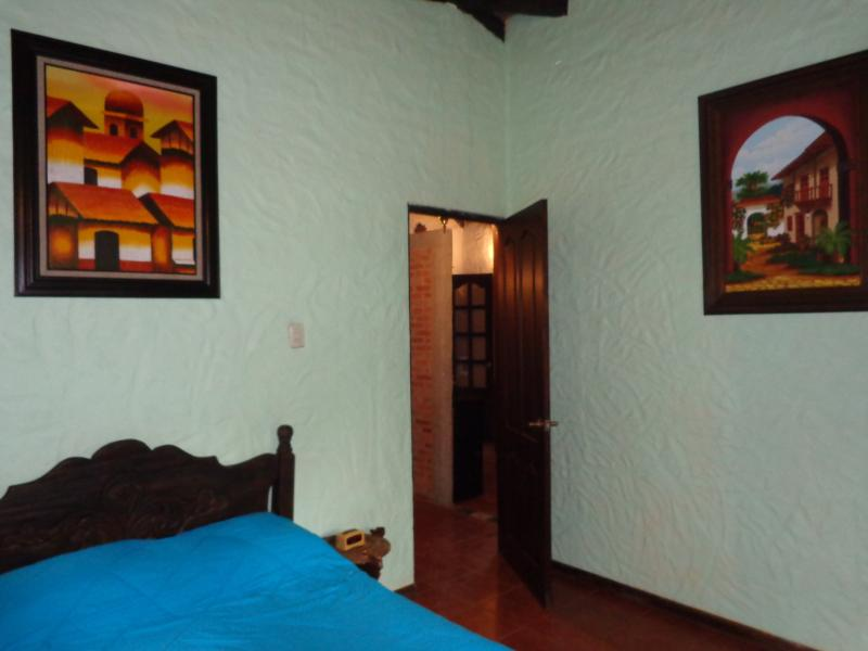View from El Colonial bedroom to hallway