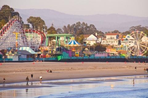 Santa Cruz Beach Boardwalk (2 millas)