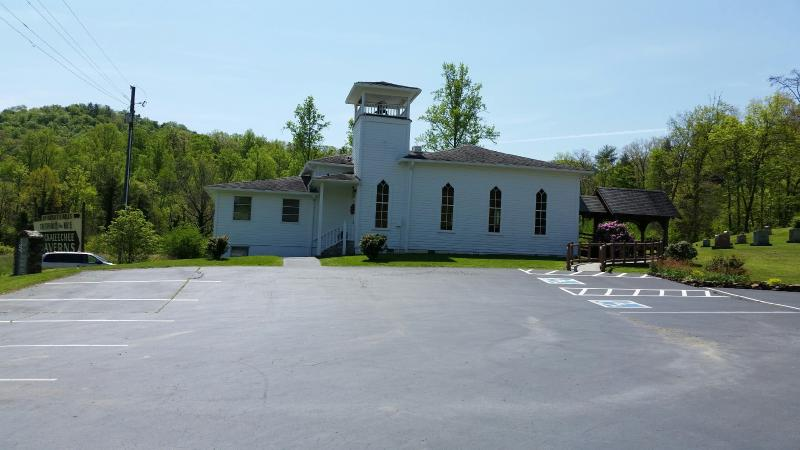 One of the many churches in Townsend