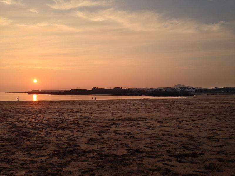 Sunset at Trearddur
