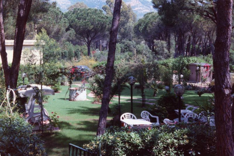 the garden for relaxation and recreation