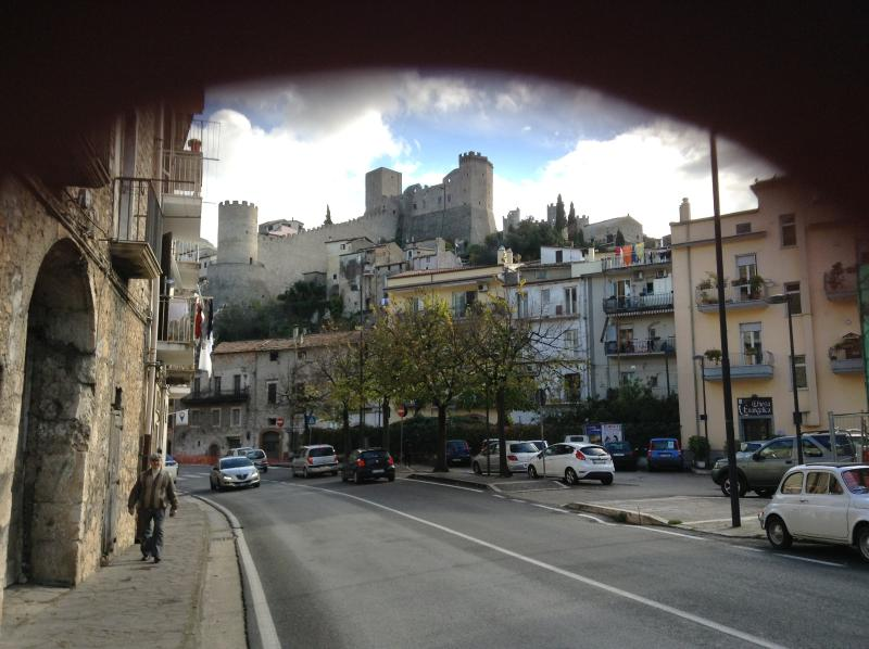 View of Medieval Castle from Via Italo Balbo