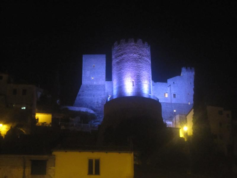 Medieval Castle at Nightcony