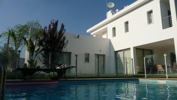 Contemporary Villa in Pyrga, Cyprus with Pool, holiday rental in Kornos
