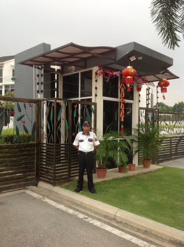Security Guard at main entrance 24/7.  Safety is guaranteed with playground, bicycle & jogging track