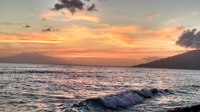 Sunset from Kihei Sea Wall