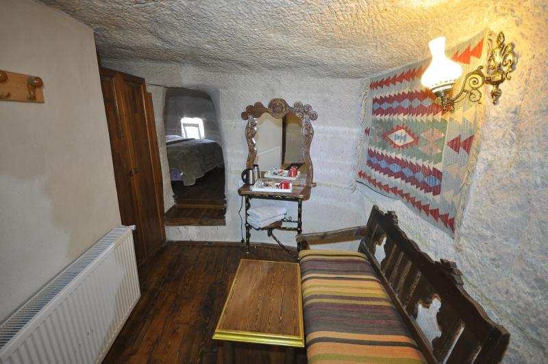 Um dos nossos aconchegantes caverooms em fairychimney