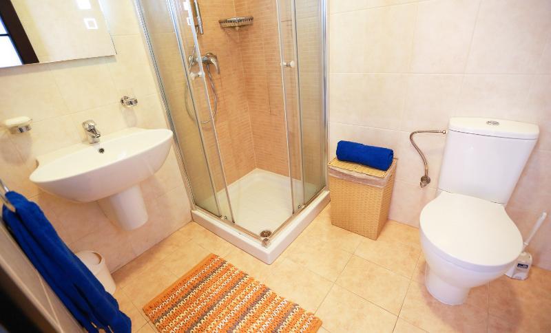 O banheiro principal