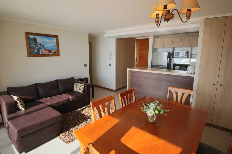 2 bedrooms apartment with ocean view 4rd floor, alquiler de vacaciones en La Serena
