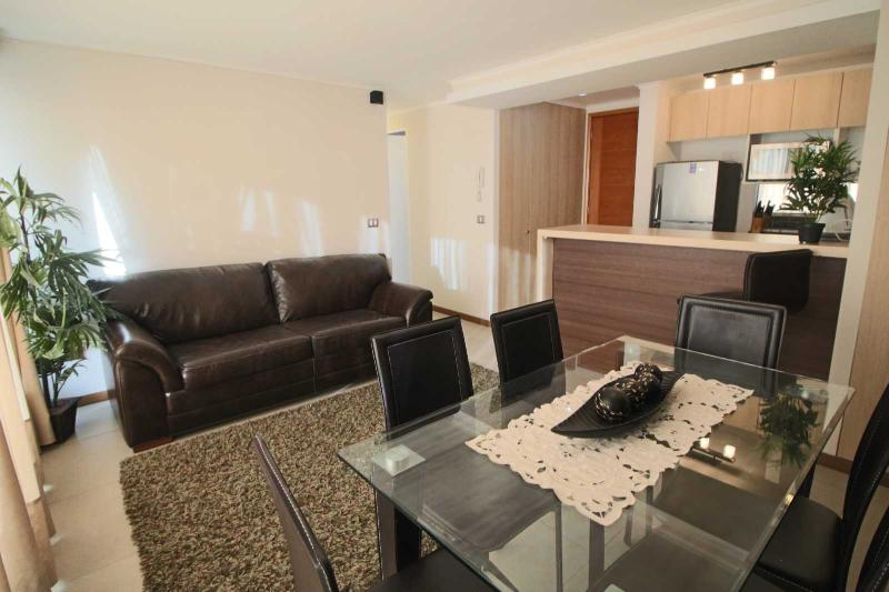 2 bedrooms apartment with sea view 3rd floor, vacation rental in La Serena