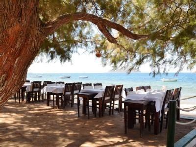 Fish restaurant at Kadikalesi beach