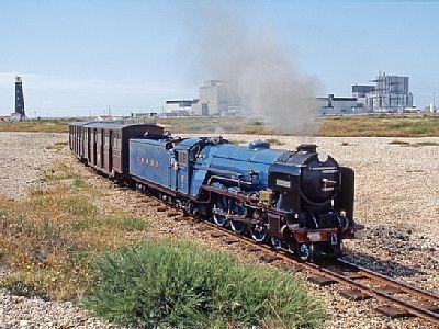 RHDR, one of the longest narrow gauge railways in Europe, 5 minutes away