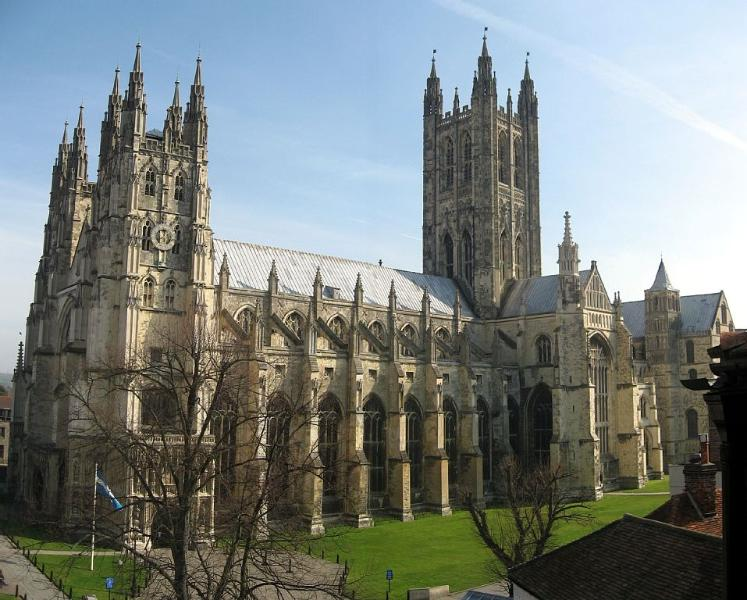 Canterbury Cathedral, 45 minutes away
