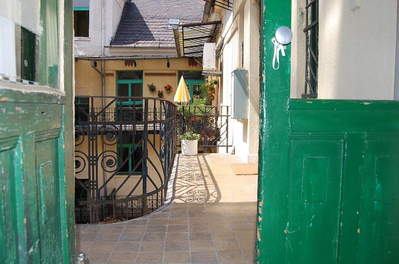 courtyard and private terrace ,ideal for morning coffee