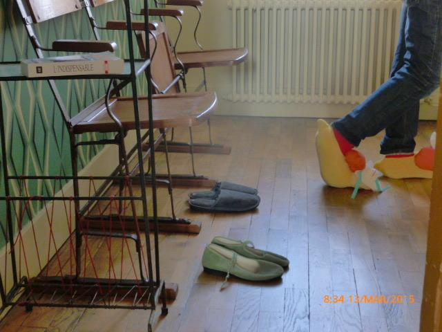 viene con zapatillas listos