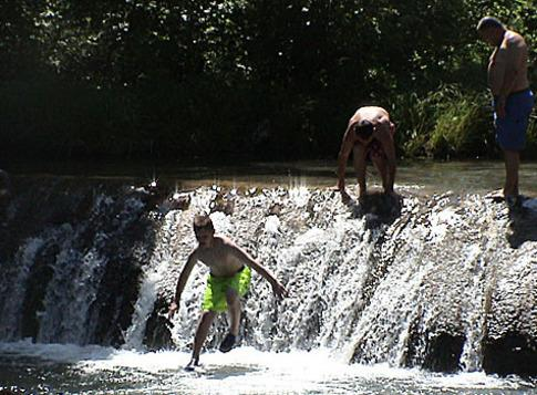Travertine Creek - Located in Chickasaw National Recreation Area - 4 miles
