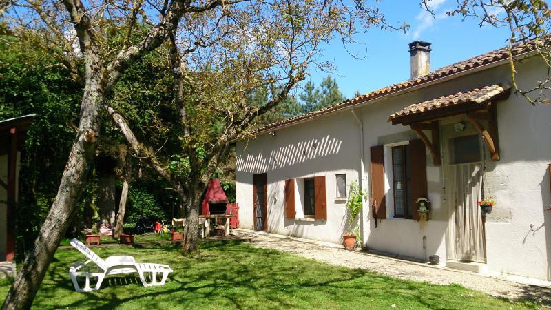 Gîte des Calèches rural avec pool chauffé,  jardin privé, Animaux de la Ferme, holiday rental in Puymiclan