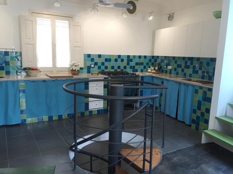 kitchen, main house