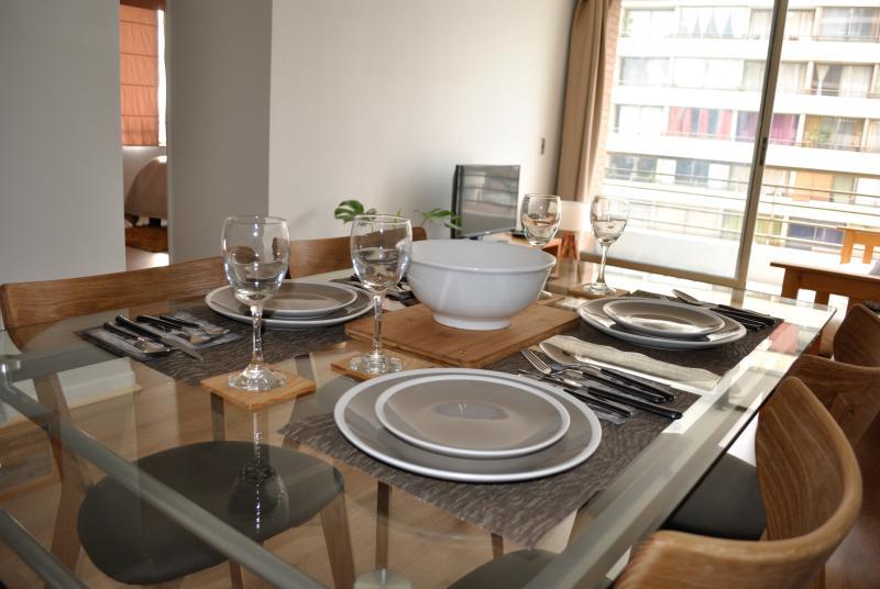 Cómodo y moderno apartamento para 4 personas.