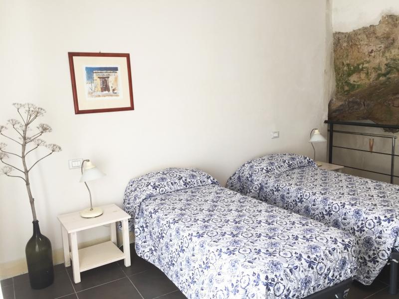 Guests' flat bedroom