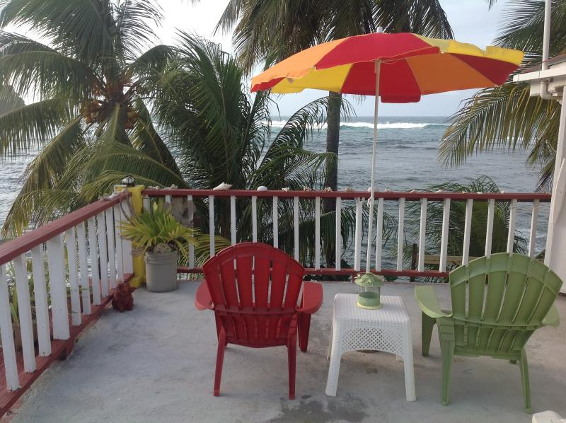 Rainbow Beach Apts. 2 BR, Ocean View with Balcony, holiday rental in Dominica