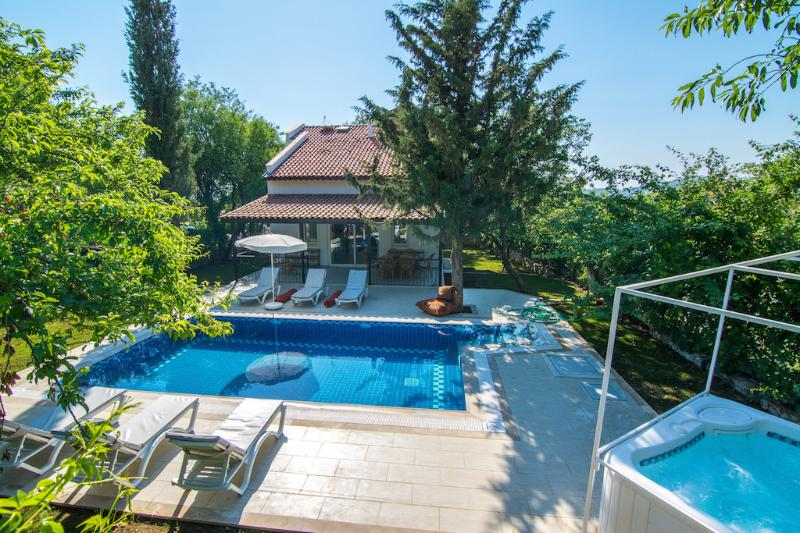 Soak up the Sun, Relax in the Bubbles or take a Dip in the Pool - BADEM EV has it all
