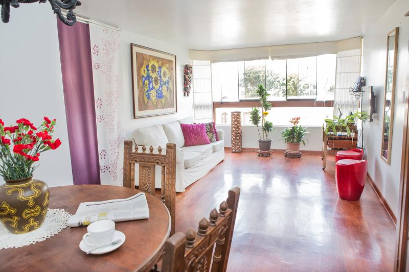 MIRAFLORES GREAT LOCATED FLAT JACUZZI, vacation rental in Lima