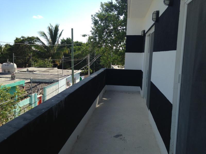 Upstairs balcony off bedrooms