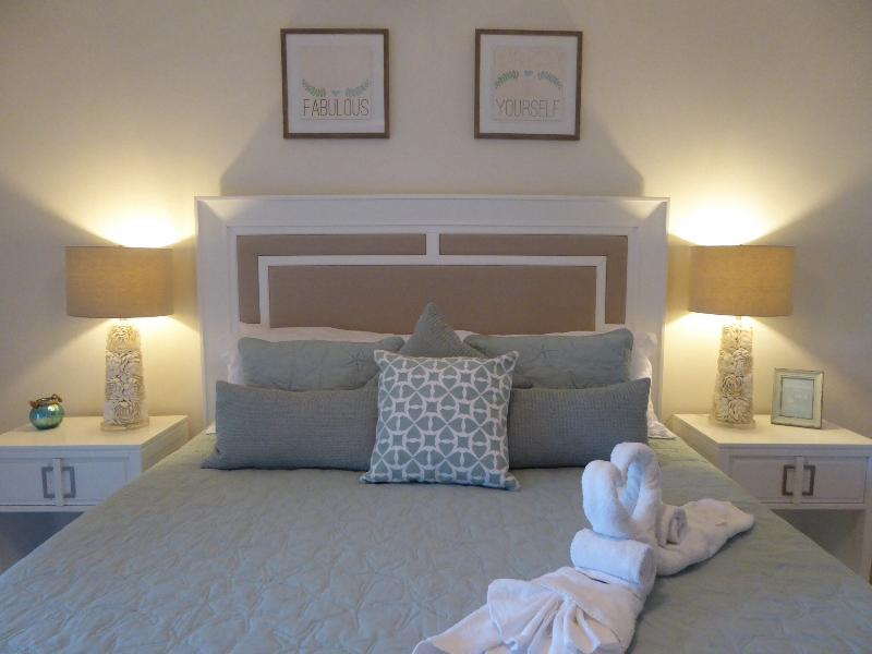 Beautiful new designer furniture in Master Suite