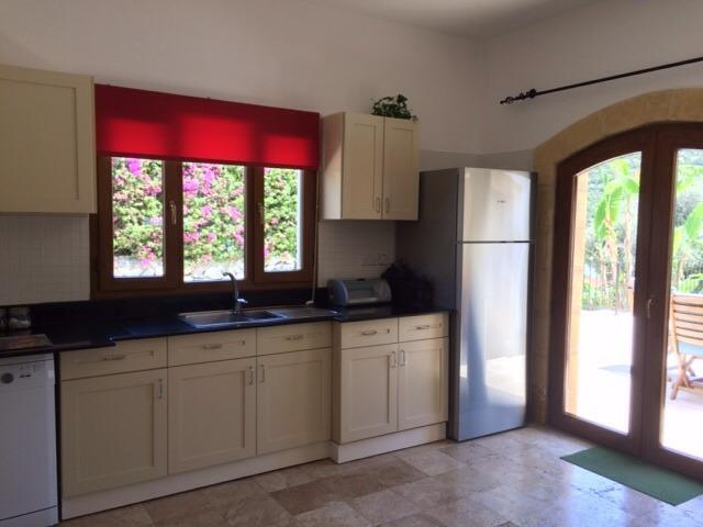 Kitchen including Bosch and Dualit stainless steel appliances.