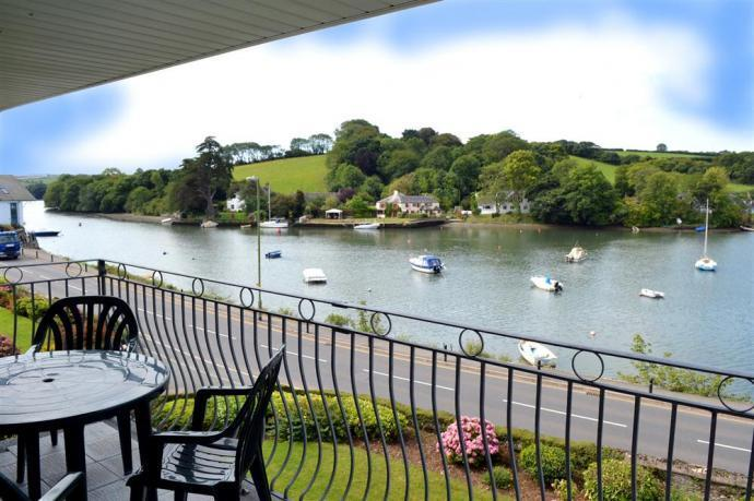 View from balcony of 6 Riverside, Kingsbridge
