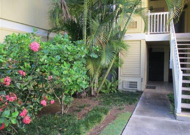 Garden Area at Entry