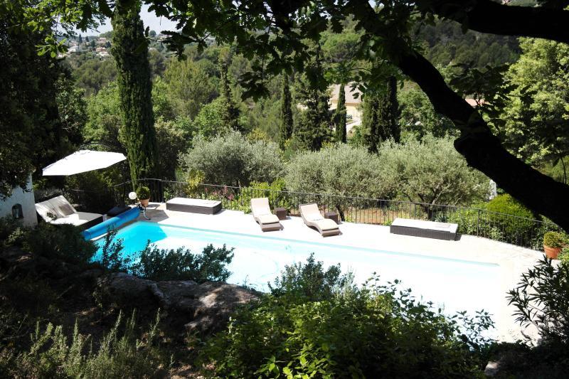 Swimming pool in full nature.