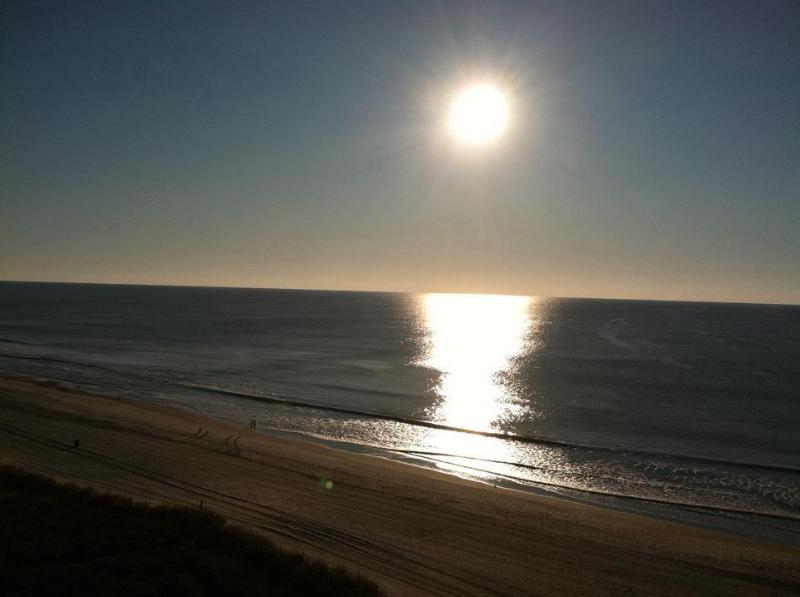 Beautiful sunrises from the balcony