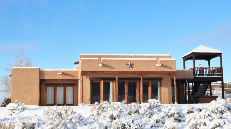 Vit vinter på Eastern Star Retreat