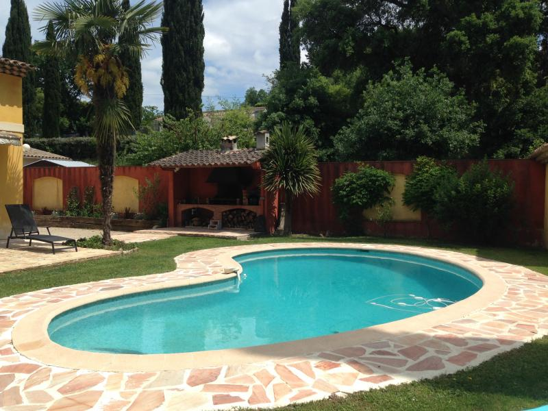 You are welcome to enjoy the swimming of our property!