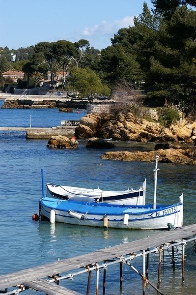 cap d'Antibes, port de l'olivette