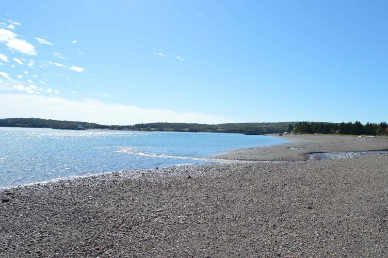 One of several beaches near by