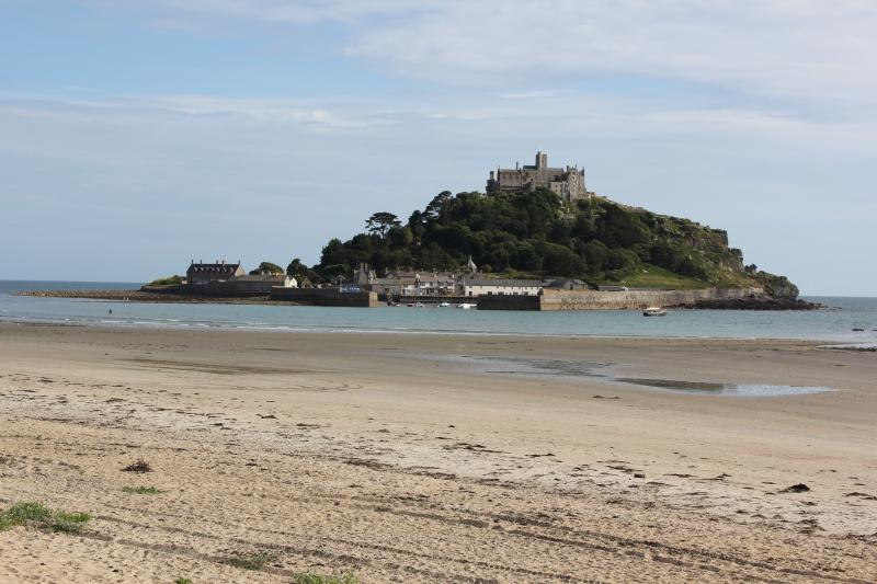 St Michaels Mount, just a 10 minute drive away