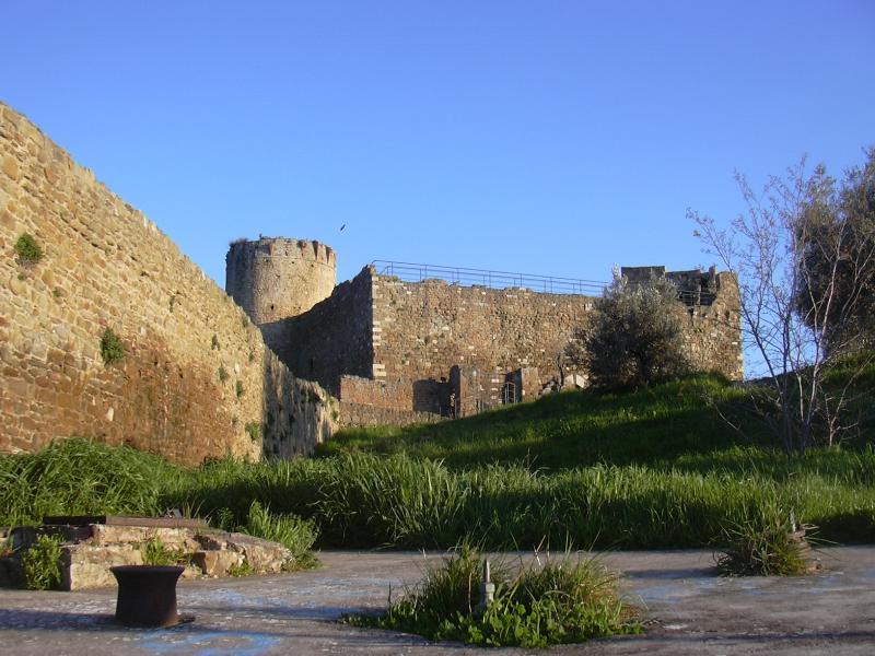 Castle of Aldobrandeschi's family in Scarlino